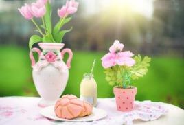 питание весной